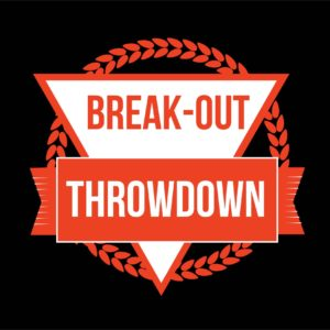 Break-out Throwdown – Ticket Visiteur