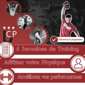 "Programme de 6 Semaines de Training – ""L'ATHLÈTE MINIMALISTE"""