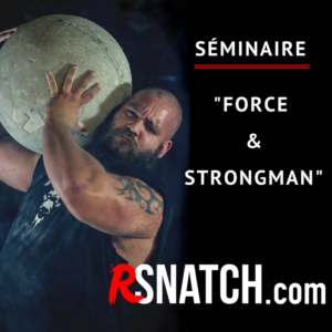 Séminaire Strongman Titi Lely – CrossFit South West Anglet – 8 & 9 SEPTEMBRE 2018