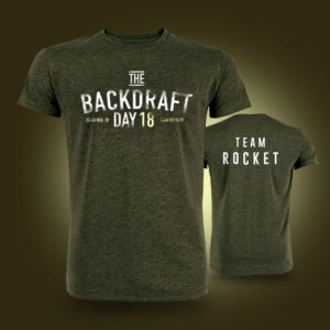 T-SHIRT THE BACKDRAFT DAY 2018