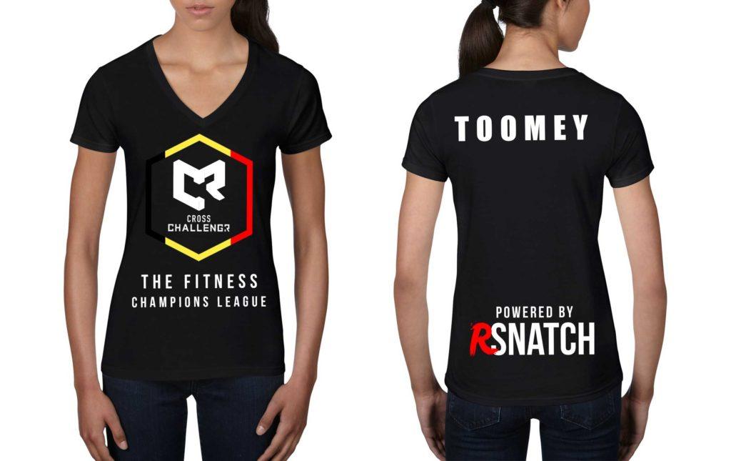 Tshirt Femmes CHALLENGR BELGIUM
