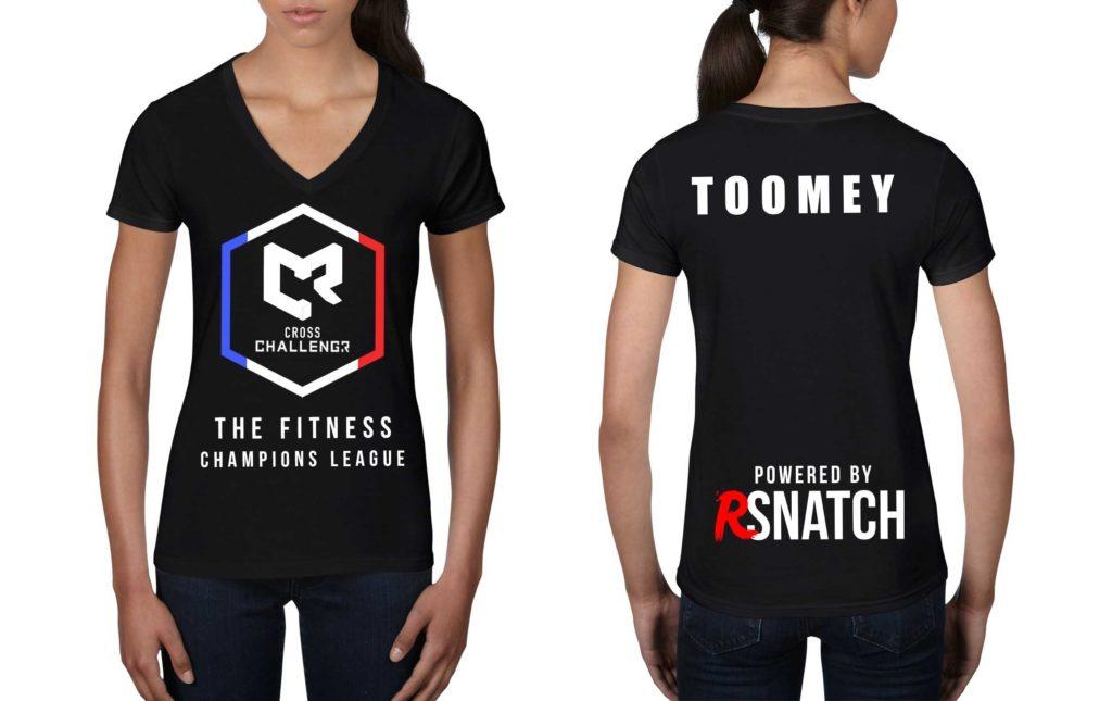 Tshirt Femmes CHALLENGR FRANCE