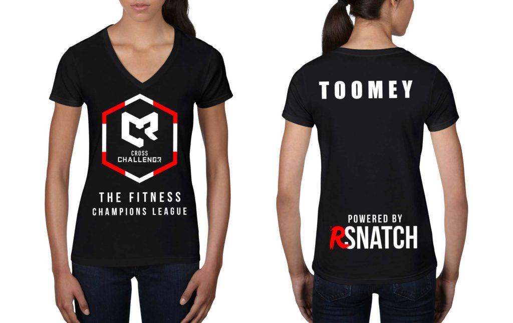 Tshirt Femmes CHALLENGR SUISSE