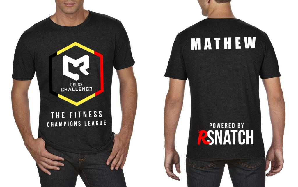 Tshirt Hommes CHALLENGR BELGIUM
