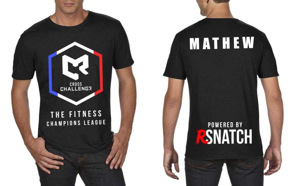 Tshirt Hommes CHALLENGR FRANCE