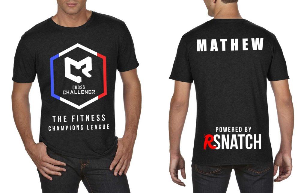 Tshirt Hommes CHALLENGR FRANCE