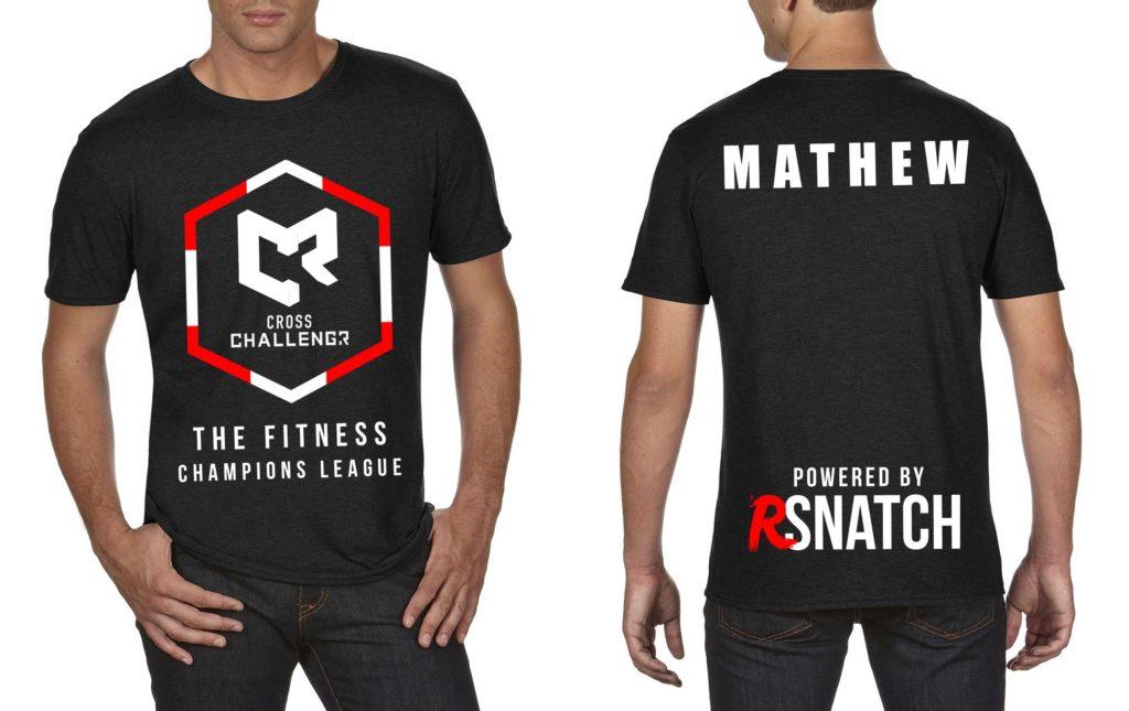 Tshirt Hommes CHALLENGR SUISSE