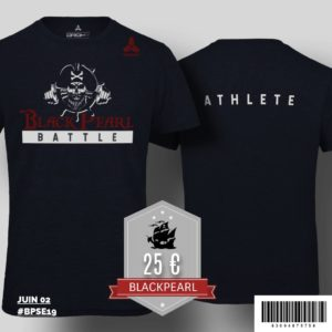 T-shirt Black Pearl Battle 2019