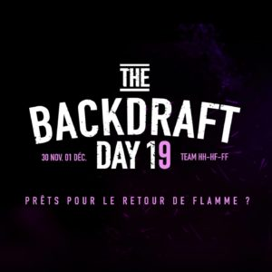 THE BACKDRAFT DAY 2019
