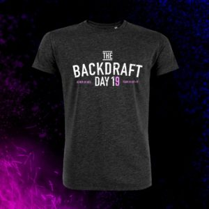 T-SHIRT THE BACKDRAFT DAY 2019