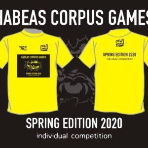 TSHIRT HABEAS CORPUS – SPRING EDITION 2020